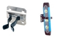 """Triton Products Lochook 1"""" to 2"""" Hold Range 2"""" Projection Dipped Extended Spring Clip for Locboard, 3 Pack"""