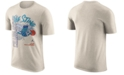 Nike Men's Charlotte Hornets Hardwood Classic Slogan T-Shirt