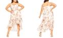 City Chic Trendy Plus Size Rosa Bloom Maxi Dress