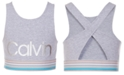 Calvin Klein Big Girls Wrap-Back Sports Bra