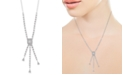 """EFFY Collection EFFY® Diamond 16"""" Lariat Necklace (1-1/10 ct. t.w.) in 14k White Gold"""