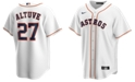 Nike Men's Jose Altuve Houston Astros Official Player Replica Jersey
