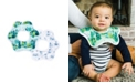 tiny twinkle Baby Boys and Girls Pack of 2 Forest Roundabout Bib Set