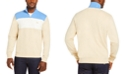 Lacoste Men's Colorblocked Quarter-Zip Sweater, Created for Macy's