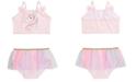 Solo Toddler Girls 2-Pc. Unicorn Tutu Tankini