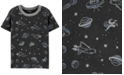 Carter's Toddler Boys Gray Space Pocket T-Shirt