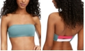 Roxy Swim in Love Colorblocked Bandeau Bikini Top