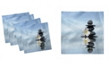 "Ambesonne Spa Set of 4 Napkins, 12"" x 12"""