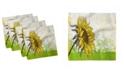 "Ambesonne Nature Set of 4 Napkins, 12"" x 12"""