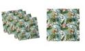 """Ambesonne Leaf Set of 4 Napkins, 12"""" x 12"""""""
