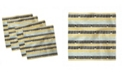 "Ambesonne Mid Century Set of 4 Napkins, 18"" x 18"""
