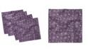"Ambesonne Snowflake Set of 4 Napkins, 18"" x 18"""