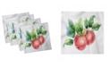 "Ambesonne Apple Set of 4 Napkins, 18"" x 18"""