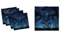 "Ambesonne Night Tree Set of 4 Napkins, 18"" x 18"""