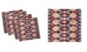 "Ambesonne Ikat Set of 4 Napkins, 18"" x 18"""