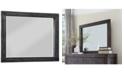 Furniture Avondale Graphite Dresser Mirror