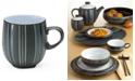 Denby Dinnerware, Jet Stripes Mug