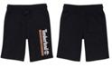 Timberland Big Boys Regular-Fit Logo-Print Fleece Shorts