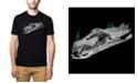 LA Pop Art Men's Premium Word Art T-shirt - Ski