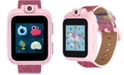 iTouch Kid's PlayZoom Pink Glitter Polyurethane Strap Touchscreen Smart Watch 52mm x 42mm