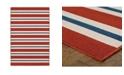 """JHB Design Apex APE08 Red 7'10"""" x 10'10"""" Area Rug"""