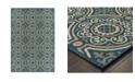 """JHB Design Scope SCO07 Blue 9'10"""" x 12'10"""" Area Rug"""