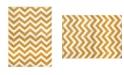"Global Rug Designs Haven Hav05 Yellow 7'10"" x 10'5"" Area Rug"