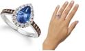 Le Vian Blueberry Tanzanite (1-1/6 ct. t.w.) & Diamond (1/2 ct. t.w.) in 14k White Gold