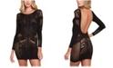 Hauty Women's Megatron Stretch Lingerie Mini Dress, Online Only