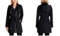 Michael Kors Asymmetrical Hooded Raincoat, Created for Macy's