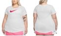Nike Plus Size Cotton Logo T-Shirt