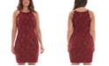 BCX Juniors' Scalloped Bodycon Dress