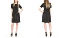 Michael Kors Plus Size Metallic-Dot Dress