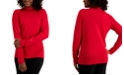 Karen Scott Studded Mock-Neck Sweater, Created for Macy's