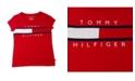 Tommy Hilfiger Little Girls Pieced Flag Tee