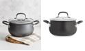 Belgique Hard-Anodized Aluminum 3-Qt. Nonstick Soup Pot with Lid, Created for Macy's