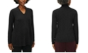 Eileen Fisher Plus Size V-Neck Top