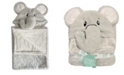 """Happycare Textiles Snoogie Boo Ultra-soft Baby Faux Fur Hooded Towel, 30"""" x 36"""""""