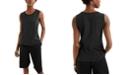 Alfani Sweater-Trim Tank Top, Created for Macy's