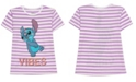 Disney Girls Short Sleeve Stitch Tee