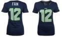 Nike Women's Fan #12 Seattle Seahawks Player Pride T-Shirt