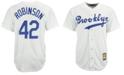 Majestic Men's Jackie Robinson Brooklyn Dodgers Cooperstown Replica Jersey