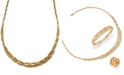 EFFY Collection D'Oro by EFFY Diamond Embellished Necklace (1-5/8 ct. t.w.) in 14k Gold