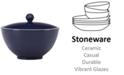 kate spade new york Larabee Dot Navy Collection Stoneware 2-Pc. Lidded Sugar Bowl