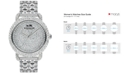 COACH Womens Crystal Accent Stainless Steel Bracelet Watch 36MM 14502364