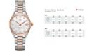 TAG Heuer Women's Swiss Carrera Diamond Accent 18k Two-Tone Stainless Steel Bracelet Watch 32mm