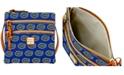 Dooney & Bourke Florida Gators Triple Zip Crossbody Bag
