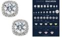 X3 Certified Diamond Halo Stud Earrings (1-1/2 ct. t.w.) in 18k White Gold