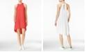 RACHEL Rachel Roy High-Low Trapeze Dress