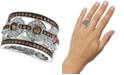Le Vian Chocolatier® Chocolate Deco Estate™ Diamond Ring (1-1/4 ct. t.w.) in 14k White Gold